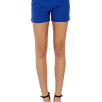 Papaya Clothing Online :: HIGH WAIST BELTED SHORTS