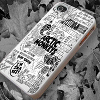 Arctic Monkeys Lyrics Art case for iPhone 4/4s, iPhone 5/5S/5C, Samsung S3 i9300, Samsung S4 i9500 *rafiahcase*
