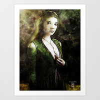 Margaery Tyrell, Game of Thrones Art Print by Andre Joseph Martin