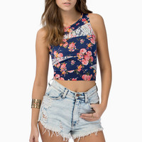 Walk In The Park Crop Top $22