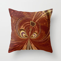 Tribal Swirl Throw Pillow by Webgrrl | Society6