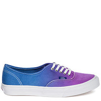 The Authentic Slim Sneaker in Ombre