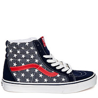 The Sk8-Hi Reissue Sneaker in Van Doren Stars and Stripes