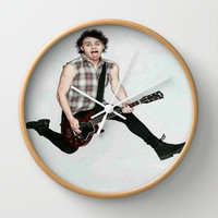 michael on teen now Wall Clock by kikabarros