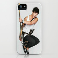 Calum on teen now iPhone & iPod Case by kikabarros