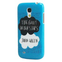 Harryshell John Green the Fault in Our Stars Samsung Galaxy S4 Mini Case(not S4)(blue)