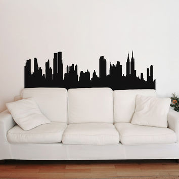 I liked this design on #Fab. New York Skyline Decal