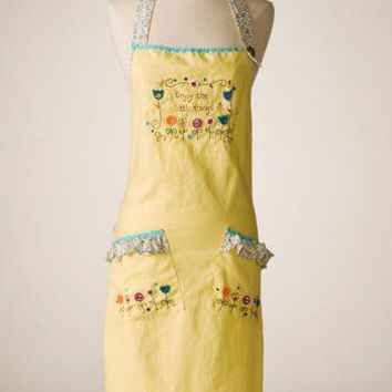 Enjoy The Little Things Apron                    - Francesca's Collections