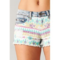 Aztec Printed Shorts