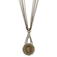 Roman Sun Goddess Necklace - Handcrafted in NYC