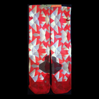 Red Prism on Nike Hyper elites Full COVERAGE