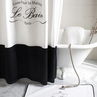 Kassatex - &quot;Le Bain&quot; Shower Curtain - Horchow
