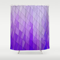 Ode to Purple Shower Curtain by DuckyB (Brandi)