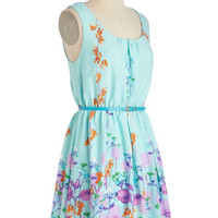 Ring the Bell Flower Dress | Mod Retro Vintage Dresses | ModCloth.com
