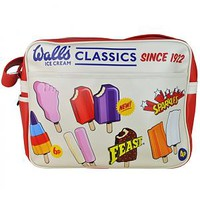 Retro Walls Ice Cream Classics Messenger Bag : TruffleShuffle.com