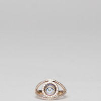 Totokaelo - Makri Eye Ring Pave - $3,822.00