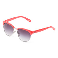Vans Semirimless Cat Sunglasses (Neon Orange)