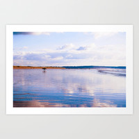 Surf at Saunton Art Print by  Alexia Miles photography