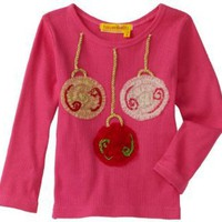 HAVEN BABY Baby-Girls Infant Long Sleeve Ornament Soutache Tee