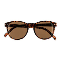 H&M - Sunglasses - Dark brown - Ladies
