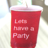 PartyRed Solo Cup earrings