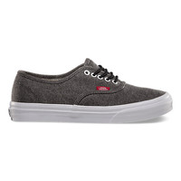 Vans Rope Lace Authentic Slim (black/true white)