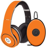 Orange Decal Skin for Beats Studio Headphones & Carrying Case by Dr. Dre