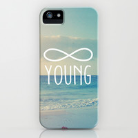 Forever Young iPhone & iPod Case by hyakume