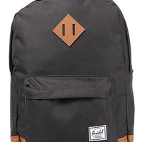 The Heritage Mid Volume Backpack in Black
