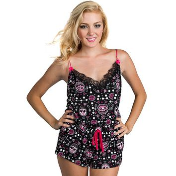 "Women's ""Muerta Cat"" Wendy PJs by Too Fast Clothing"