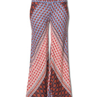 Retro Flower Pants: Soul Flower Clothing