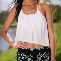 Race To The Top Crop Top - Lotus Boutique