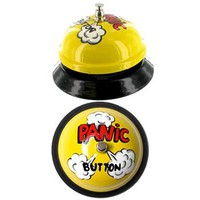 Panic Bell Novelty Cartoon-Inspired Desktop Bell, Fun & Unique Gifts