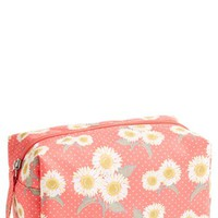 Lulu Daisy Print Cosmetic Bag (Juniors) | Nordstrom