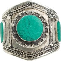 VANESSA MOONEY THE ESTELLE MALACHITE CUFF