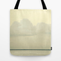 White Wall Tote Bag by RichCaspian | Society6