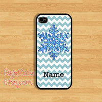 WINTER IPHONE 5 CASE Personalized SnowFlake Phone Case iPhone 5S Case iPhone 4 Samsung Galaxy S4 S3 Cover iPhone 5c cases iPhone 4s case