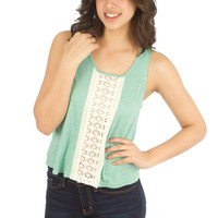 Its Mint Night Tank Top