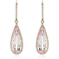 Astley Clarke Morganite Opera Earrings