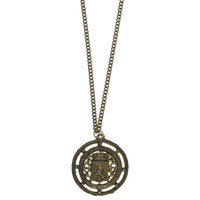 Ancient Britain Seal Necklace - Handmade in NYC