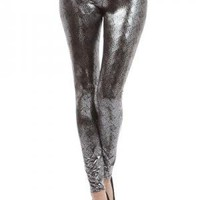 Metallic Leggings at Poetrie.com