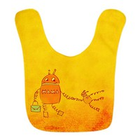 Robomama Mother And Child Robot Bib