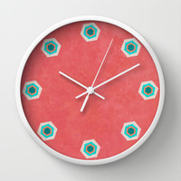 Goin' Nuts Wall Clock by Katayoon Photography