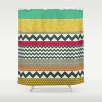 New York Beauty stripe Shower Curtain by Sharon Turner | Society6