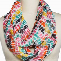 MULTI STRIPE ETERNITY SCARF