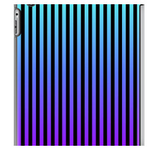 Teal/Purple/Black Vertical iPad Cases by Lyle Hatch @ Redbubble.com