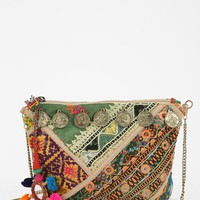 Love Sam Coins Embroidered Crossbody Bag - Urban Outfitters