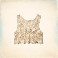 Hidden Hills Crochet Crop Top