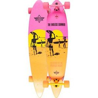 Dusters California Endless Summer Longboard Yellow/Orange/Pink One Size For Men 23977295701