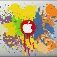 Paint Splash 3M Decal for Mac Book All Sizes Ships by MacStikerz